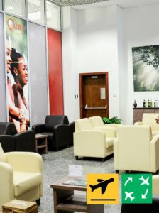 Pearl Lounge - Departure from Kigali (1 Member Guest)