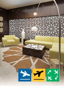 Royal Majlis- VIP Terminal - Departure from Abu Dhabi International Airport